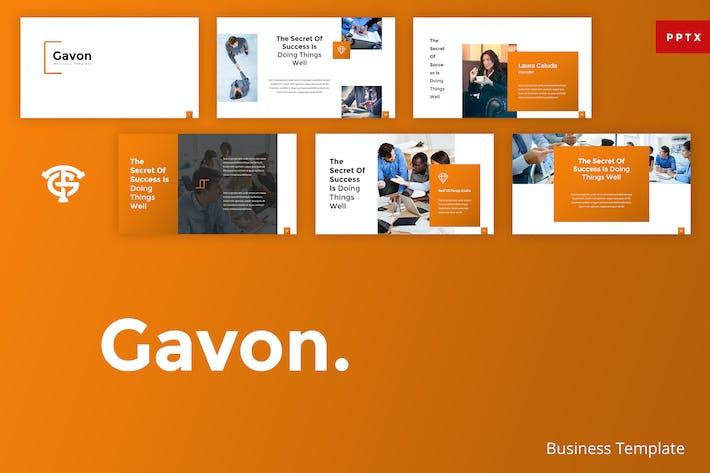 Thumbnail for Gavon Business - Powerpoint