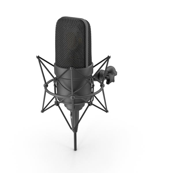 Thumbnail for Black Microphone with XLR Cable