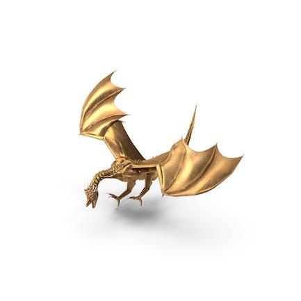 Goldener Drachenlandung