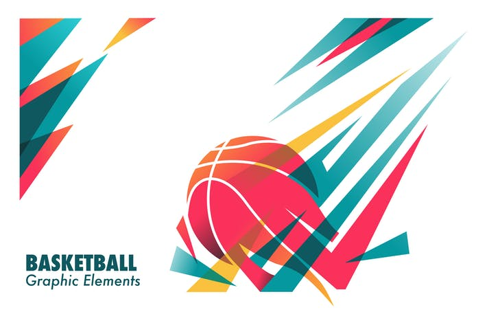 Thumbnail for Basketball graphic element