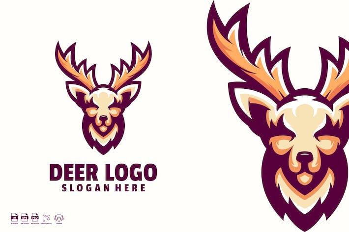 Thumbnail for Deer logo template