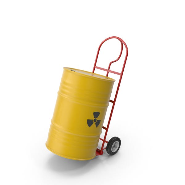 Thumbnail for Hand Cart With Barrel