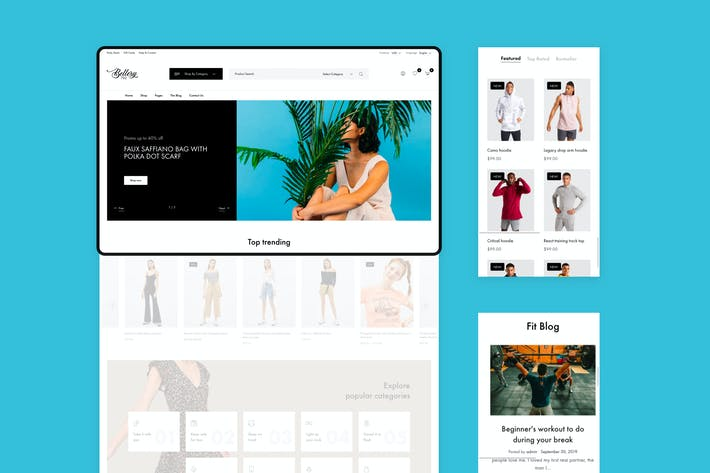 Thumbnail for Bellery - Modern & Minimal WooCommerce Theme