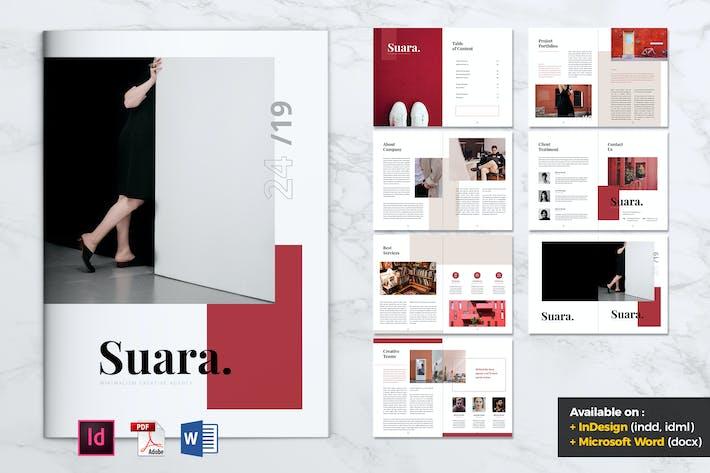 Thumbnail for SUARA Fashion Company Profile Brochure