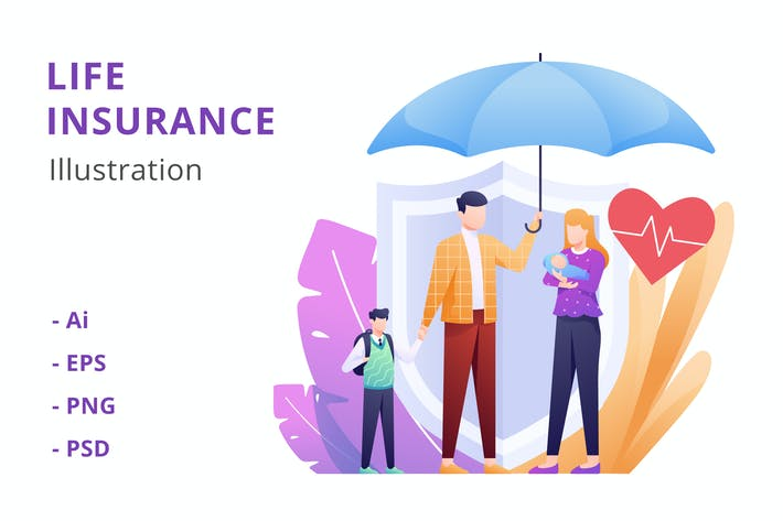 Thumbnail for Life Insurance Illustration