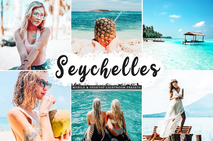 Thumbnail for Seychelles Mobile & Desktop Lightroom Presets