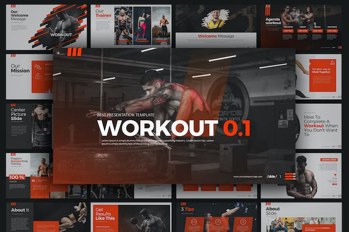 Thumbnail for WORKOUT 0.1 Google Slides