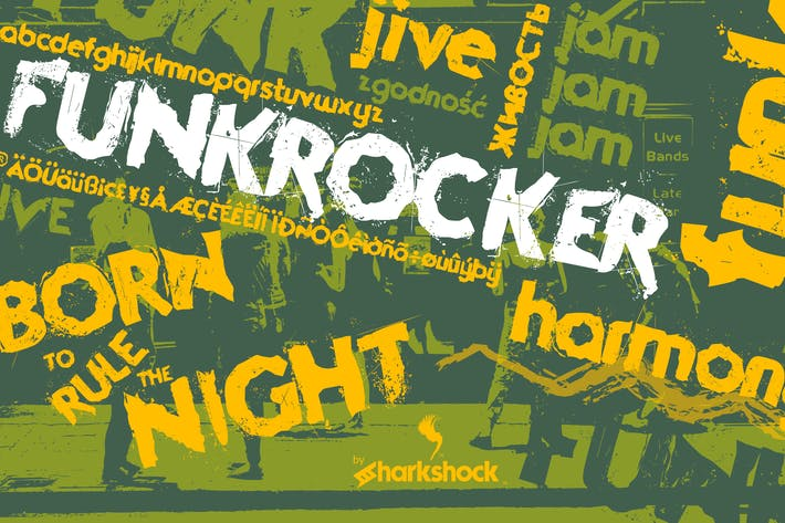 Cover Image For Funkrocker