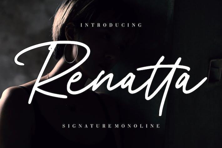Thumbnail for Renatta Signature Monoline