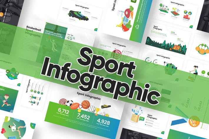 Thumbnail for Sport Infographic Powerpoint Template