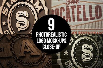 Photorealistic Close-up Mock-ups v.1