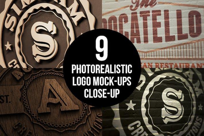 Thumbnail for Photorealistic Close-up Mock-ups v.1