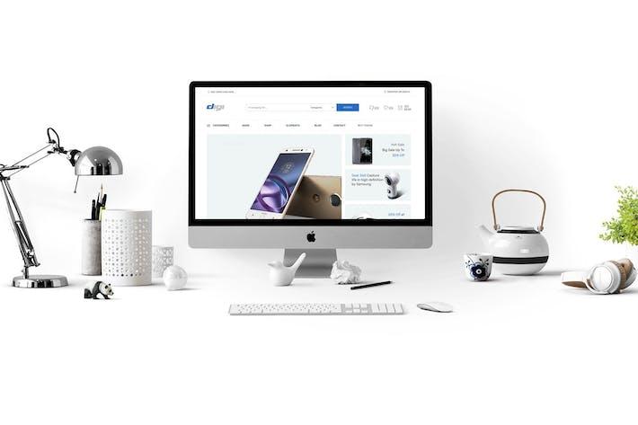 Thumbnail for Digi - Tienda de electrónicos WooCommerce Tema