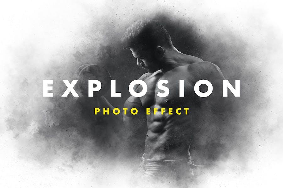 Efecto Fotográfico Explosión de Polvo