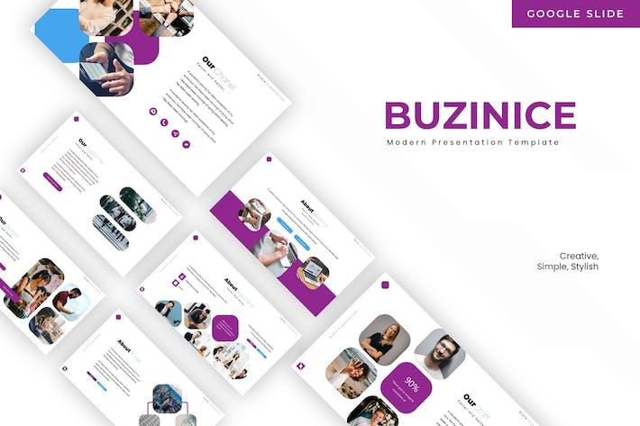 Thumbnail for Buzinice - Google Slides Template