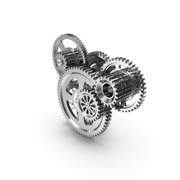 Chrome Clockwork Mechanism