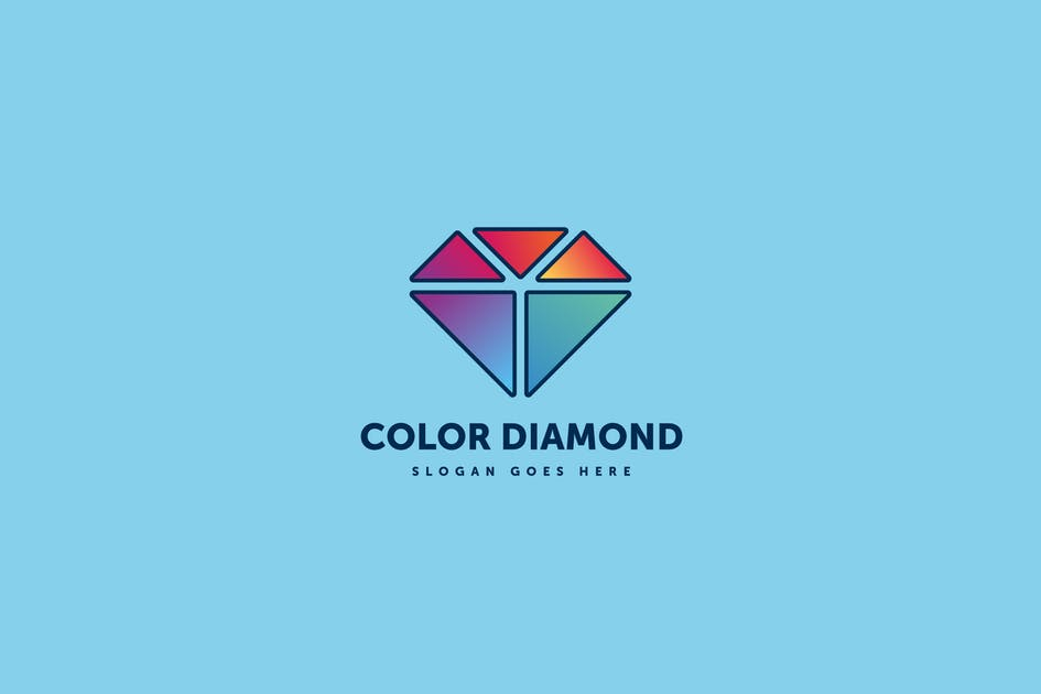 Download Color Diamond Logo Template by Pixasquare