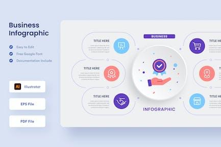 Business Infographic - Muzitemp