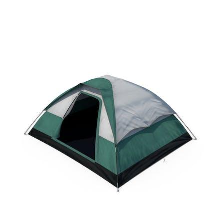 Camping Zelt offen