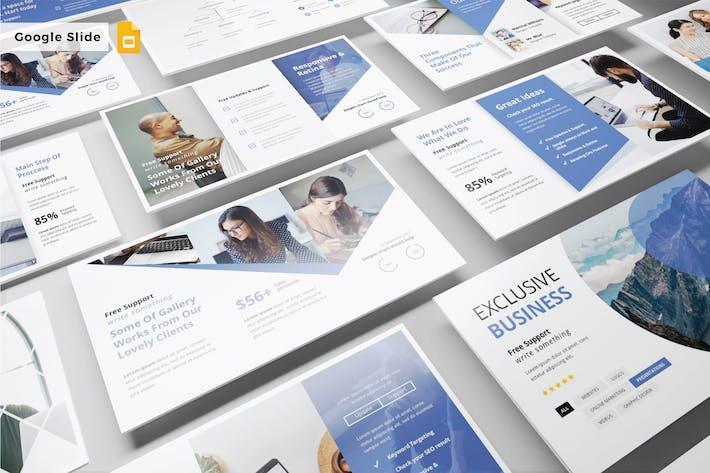 Cover Image For EXKLUSIVE BUSINESS - Google Slide V330
