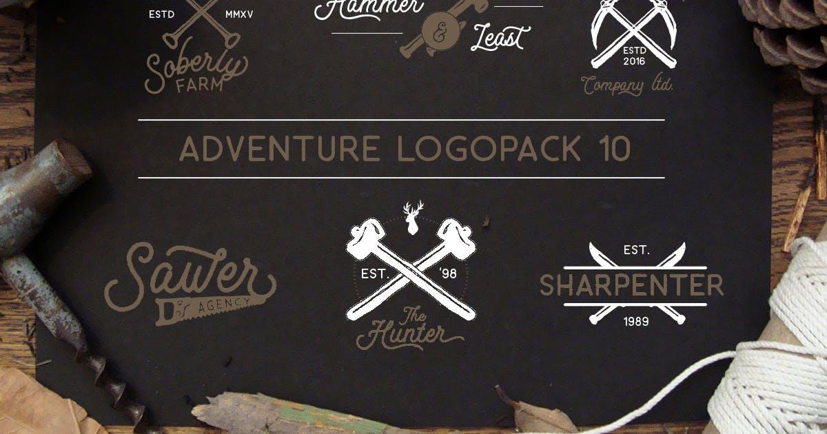 Adventure Logopack Vol. 10 by letterhend