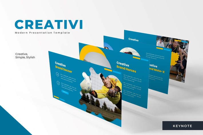 Thumbnail for Creativiti - Powerpoint Template