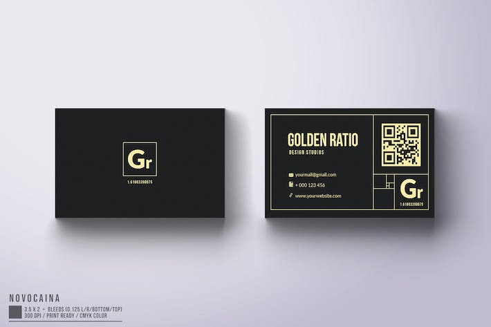 Thumbnail for Golden Ratio Business Card