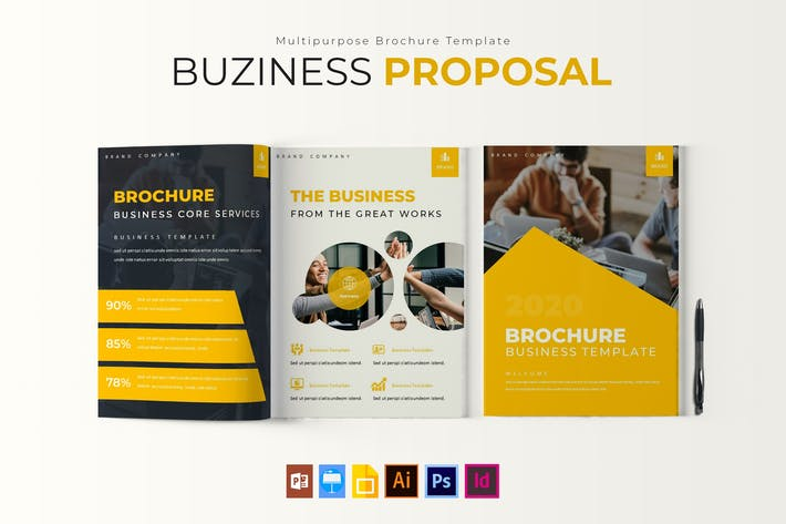 Thumbnail for 2020 Business | Brochure Template