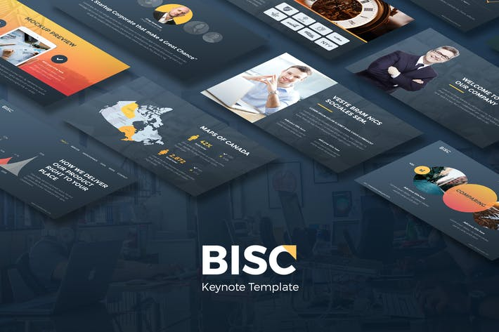 Thumbnail for BISC - Keynote Deck Presentation
