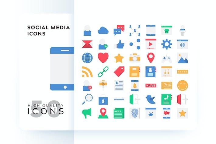 Thumbnail for SOCIAL MEDIA FLAT COLOR