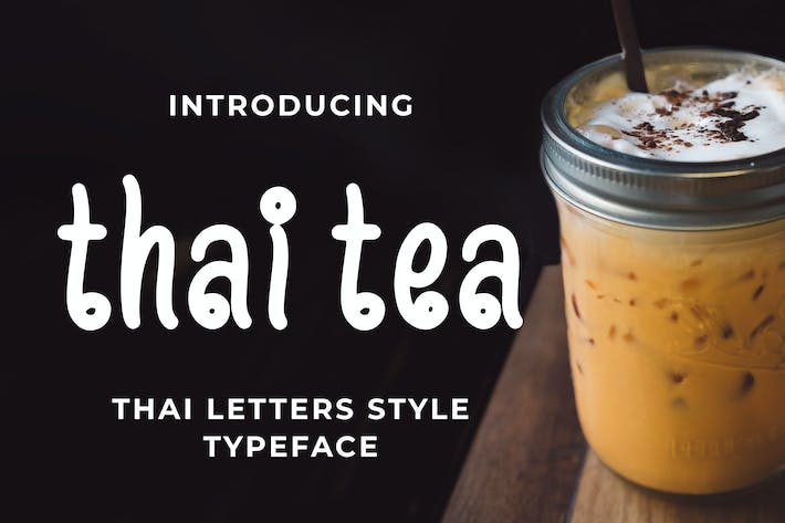 Thumbnail for Thai Tea - Thai Style Typeface