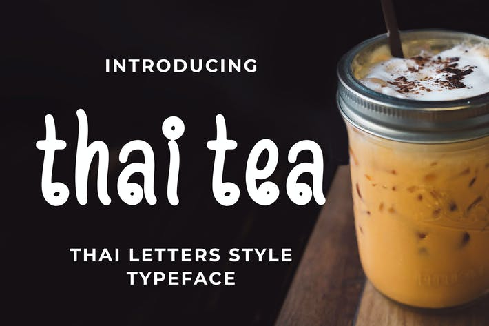 Thumbnail for Thai Tea - Thai Style Tipo de letra