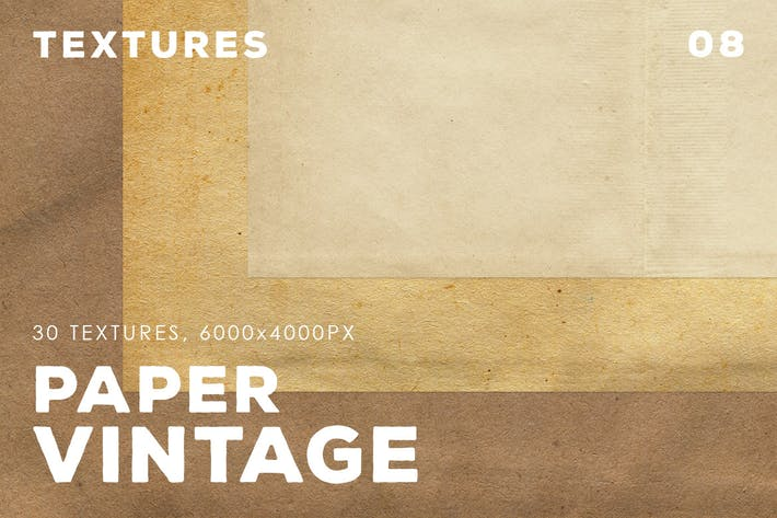 Thumbnail for 30 Vintage Paper Textures