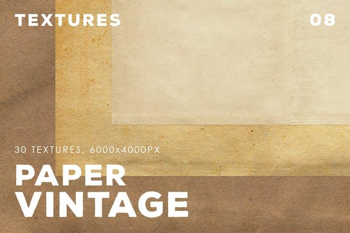Thumbnail for 30 texturas de papel vintage