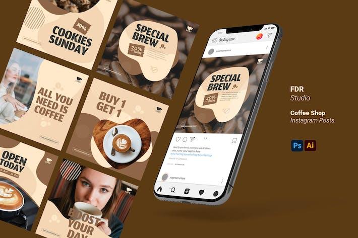 Coffee Shop Insta Posts
