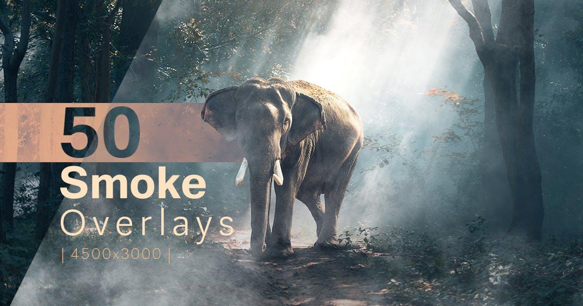 Download 50 Smoke Overlays by FreezeronMedia