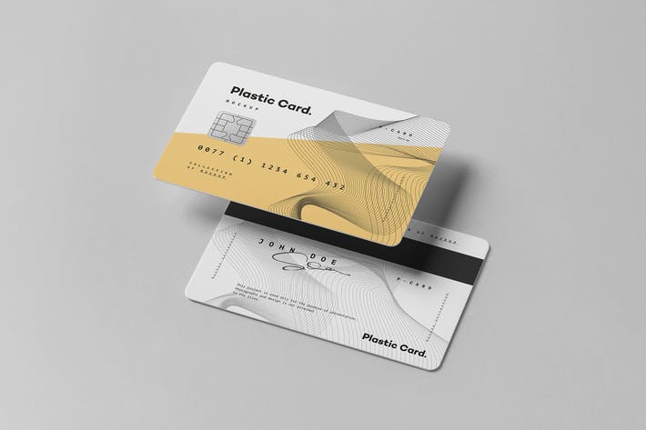 Thumbnail for Plastic Card Mock-up 2