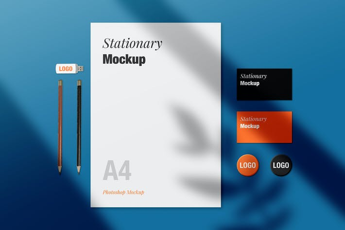 Thumbnail for Stationery Mockup