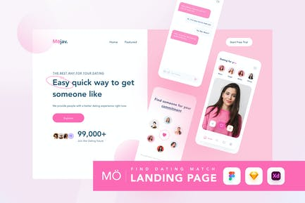 Dating Landing Page - Azztemp