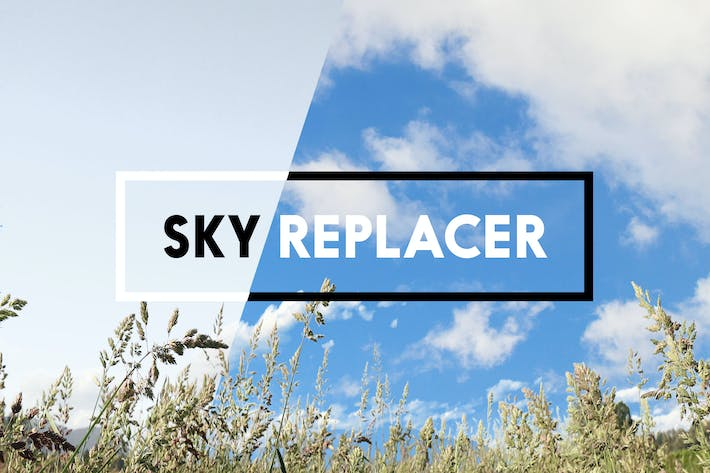 Thumbnail for Sky Replacer Photoshop Actions