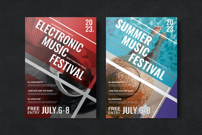 Thumbnail for Festival Flyer Template