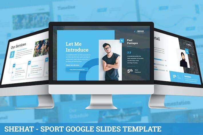 Thumbnail for Shehat - Sport Google Slides Template