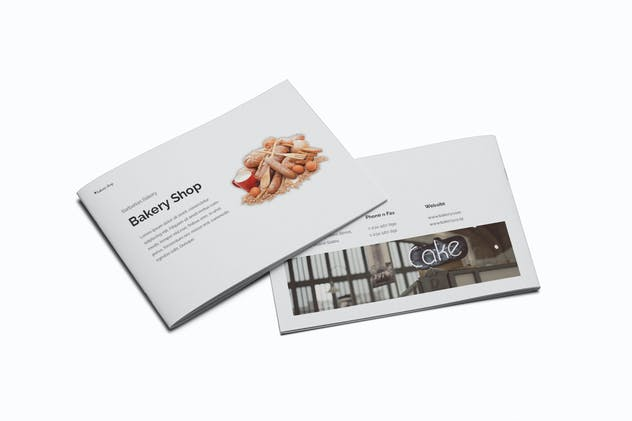 Bakery A5 Brochure Template
