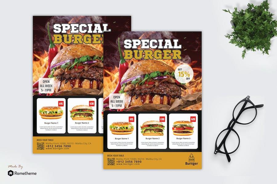 Burnger - Promotion Flyer RB