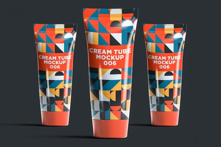 Cream Tube Mockup 006