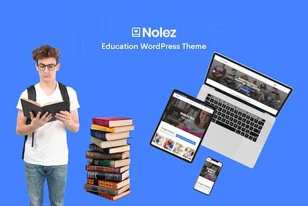 Nolez - Education Elementor WordPress Theme