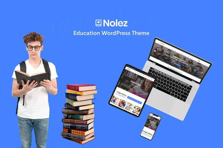 Thumbnail for Nolez - Education Elementor WordPress Theme