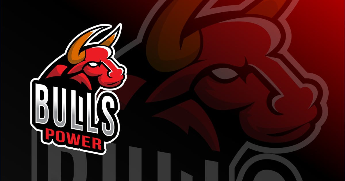 Download Bulls Power Esport Logo Template by IanMikraz