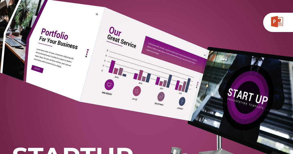 Download StartUp - Powerpoint Template by inspirasign