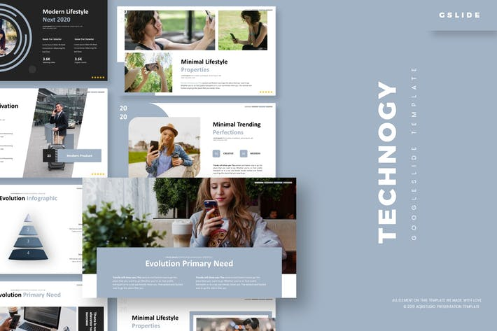Cover Image For Technogy - Google Slides Template